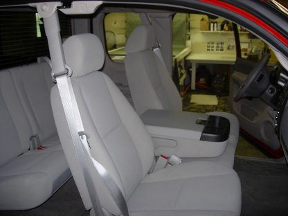 2007-2014 Chevy Suburban 40/20/40 with Opening Consoles Seat Covers