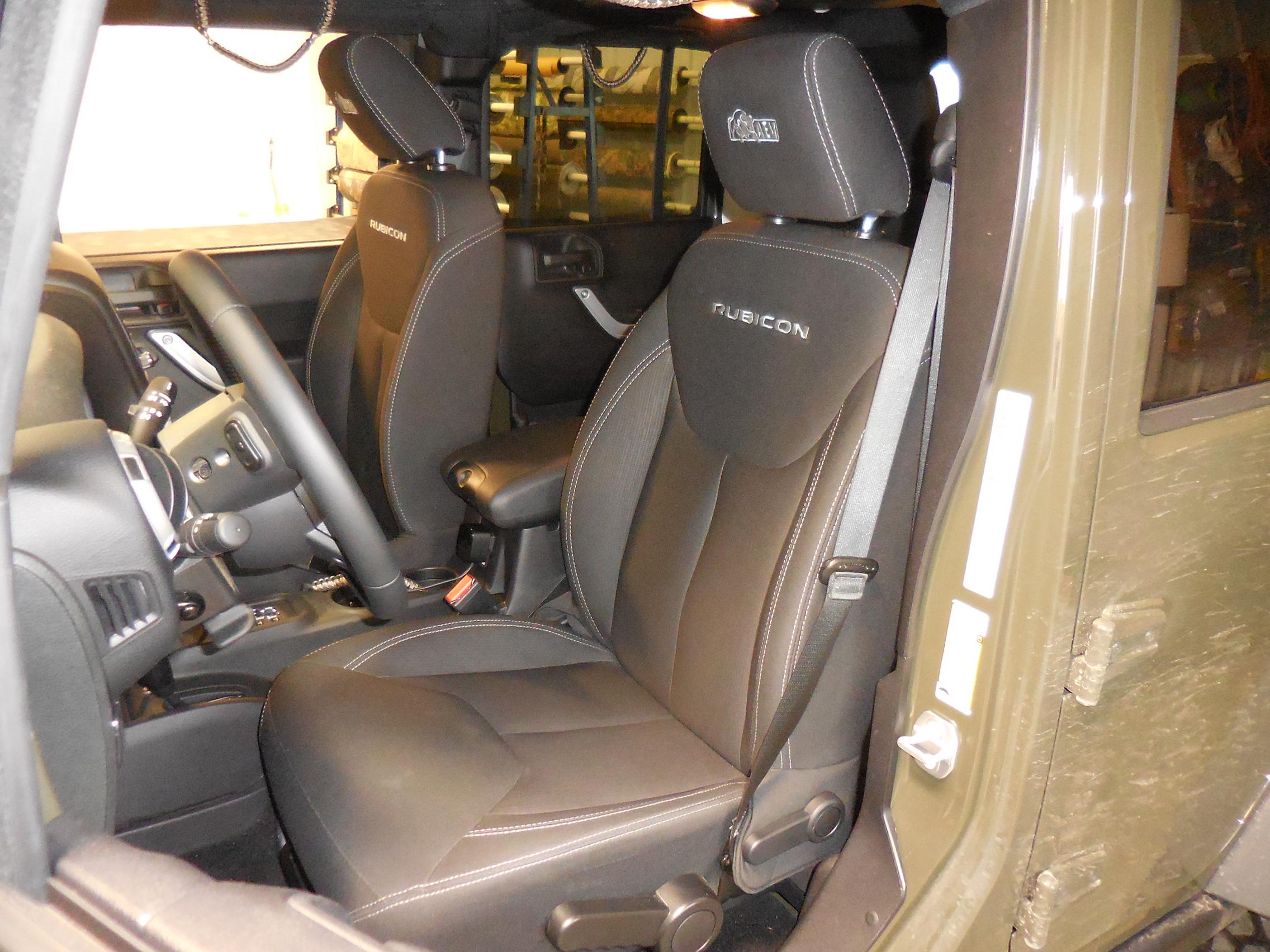 2014 2018 Jeep Wrangler Rubicon Jk Bucket Seat Covers