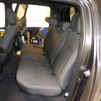 2016-2019 Tacoma Double Cab Rear 40/60 Seat Covers