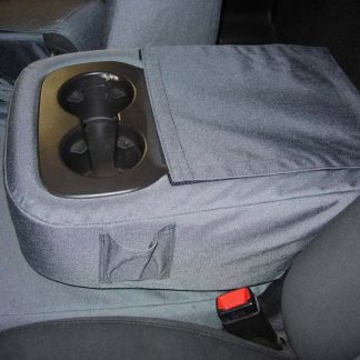 2007-2014 Chevy Suburban 40/20/40 2 Drink Console with OUR Lid Cover Seat Covers