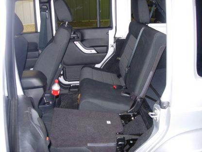 2011 - 2018 Jeep Wrangler 4 Door Rear 40/60 Seat Covers