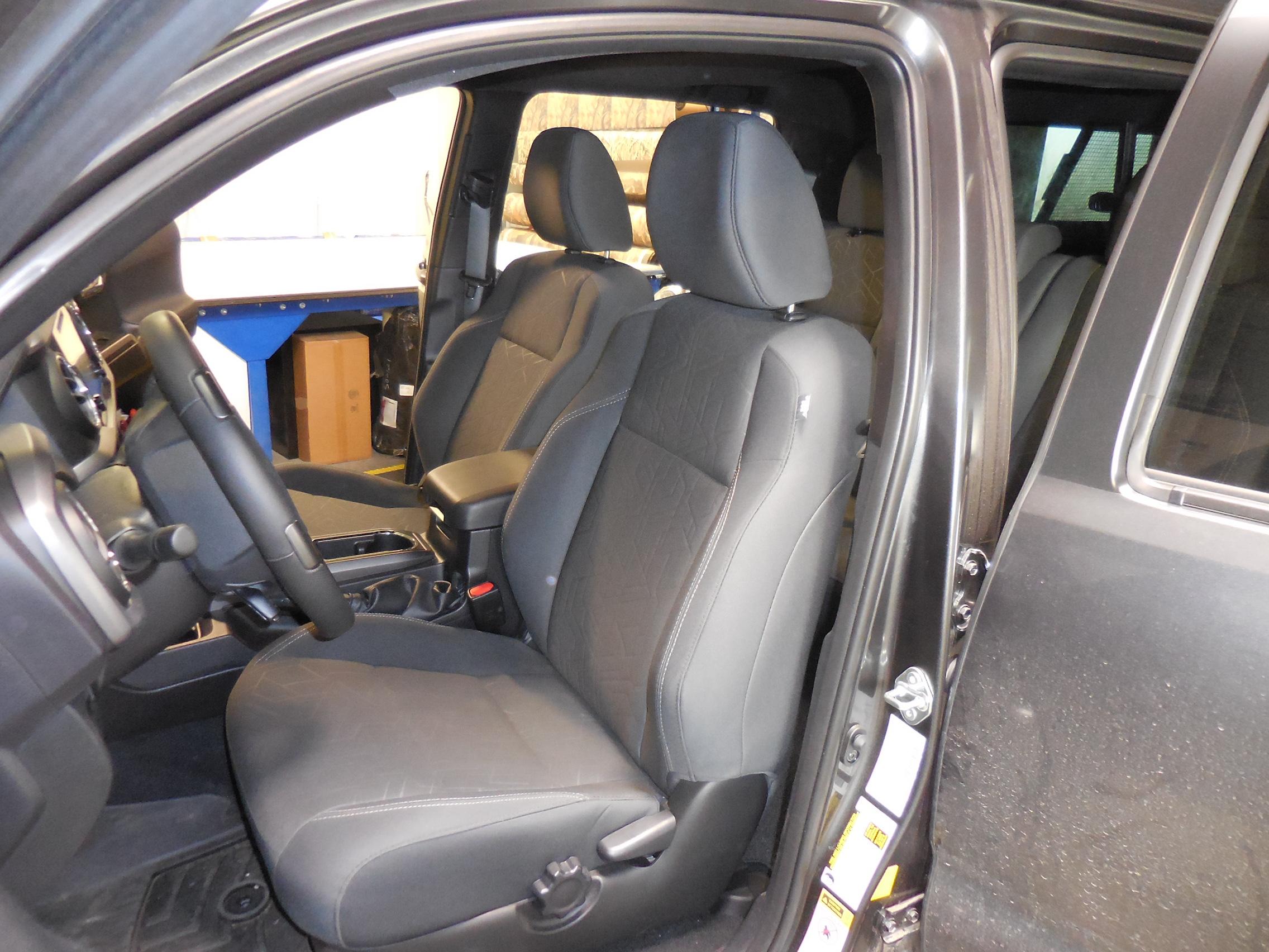 Tacoma Seat Covers >> 2016 2019 Tacoma Buckets Seat Covers
