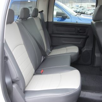 2009-2010 RAM Crew Rear Solid Bench Seat Covers