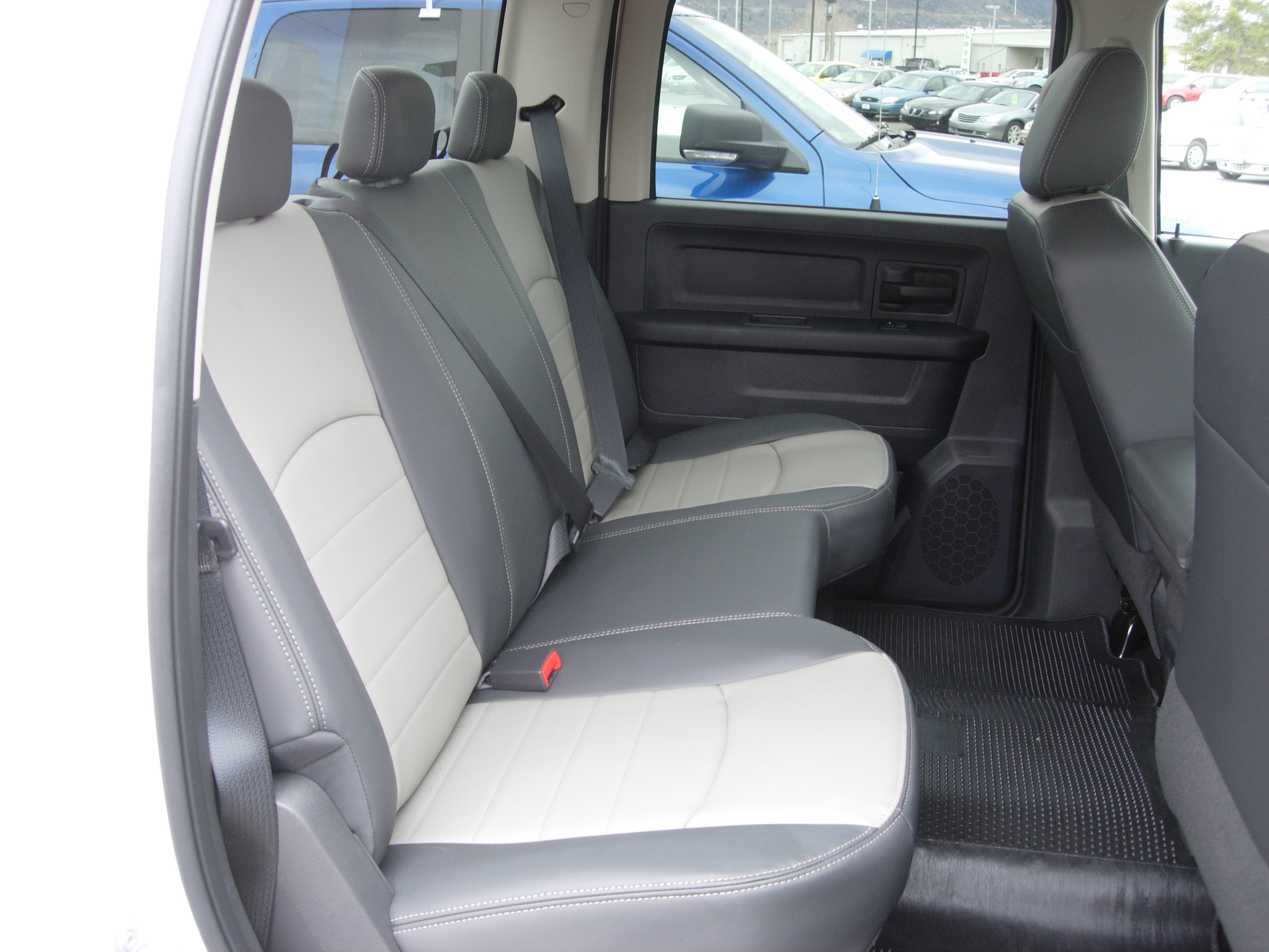 Marvelous 2009 2010 Ram Crew Rear Solid Bench Seat Covers Dailytribune Chair Design For Home Dailytribuneorg