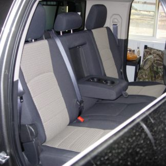 2010-2019 RAM Mega Cab Rear 40/60 Seat Covers