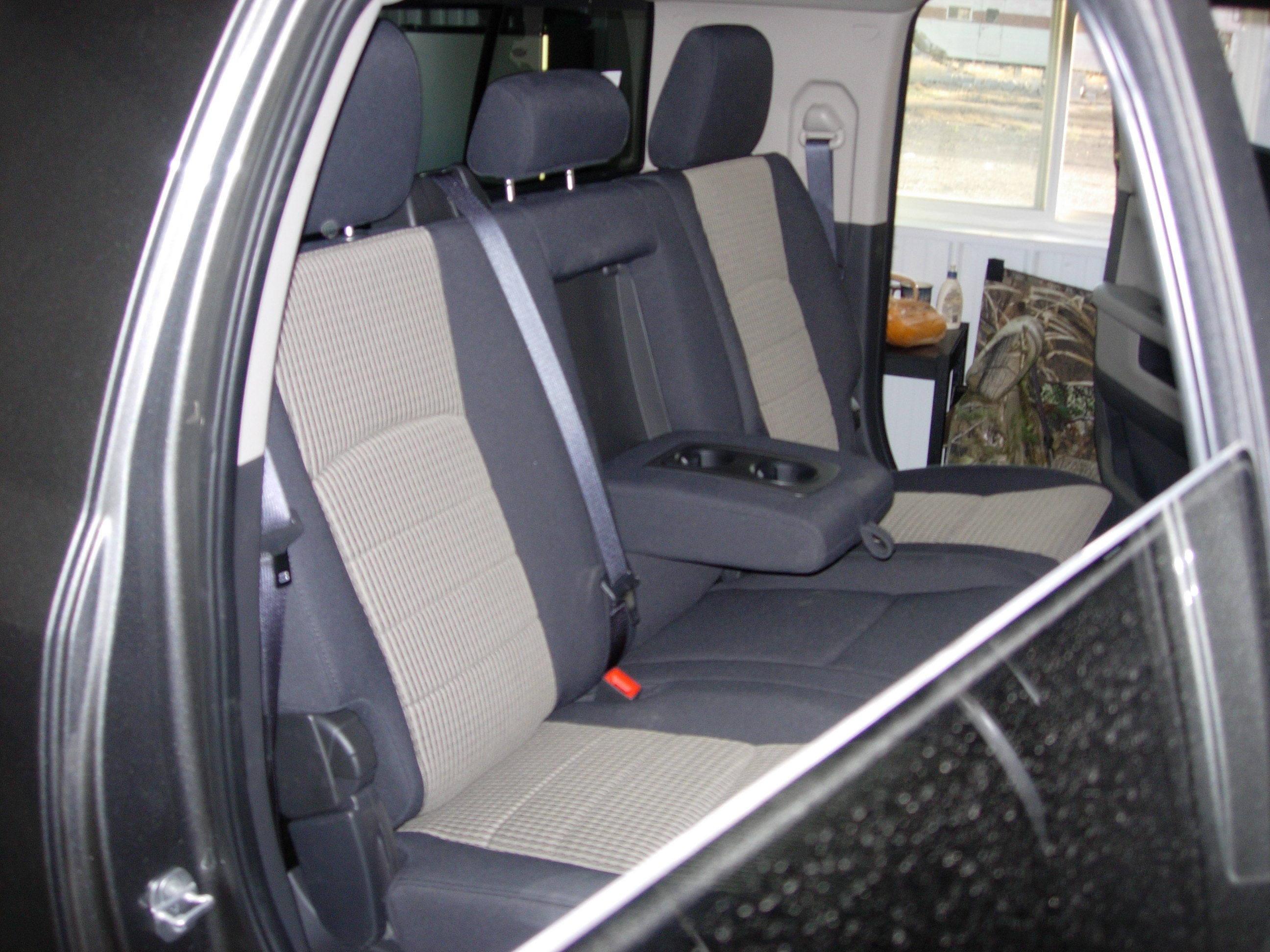 2010 2019 Ram Mega Cab Rear 40 60 Seat Covers Headwaters Seat Covers