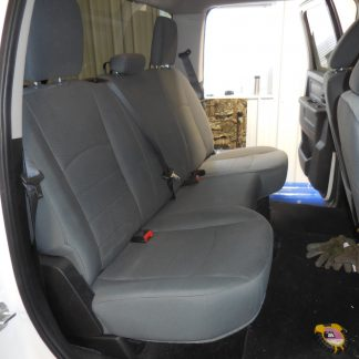 2013-2019 RAM Crew Rear Solid Bench Seat Covers
