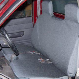 "1981 - 1994 Toyota Pickup 4X4 Bench, 5"" Shifter Notch Seat Covers"