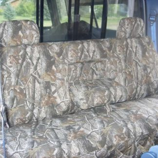 1992-1998 Ford F-250-450 Super Crew XLT Bench with Armrest and Adjustable Headrests Seat Covers