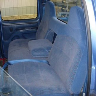 1994-1998 Ford F-250-450 Rear Super Crew Bench with Armrest Seat Covers
