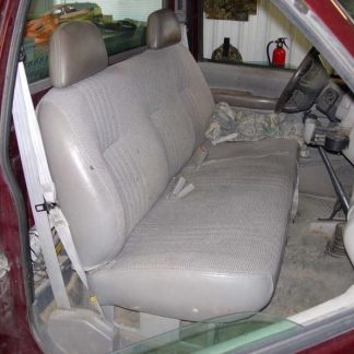 1995-2000 Chevy/GMC Solid Bench with Headrests Seat Covers