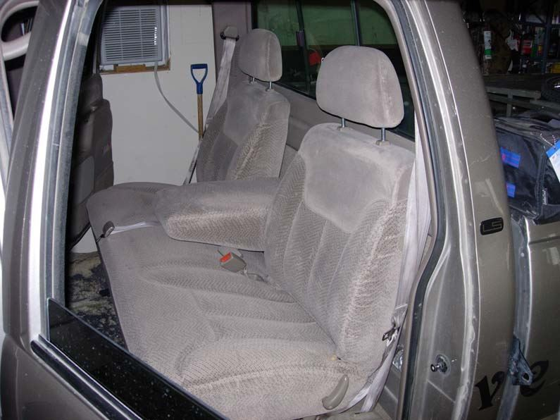 1995 2000 Chevy Gmc Crew Cab Rear Bench W Armrest