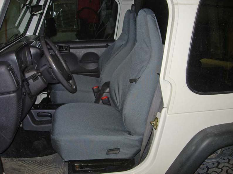 1997 2002 Jeep Wrangler Bucket Seat Covers Headwaters