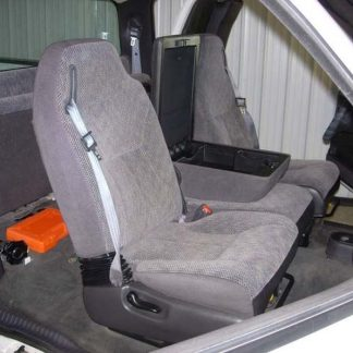 1998-2002 Dodge 40/20/40 with Integral Seat Belt Seat Covers
