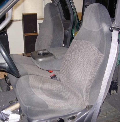 2000 - 2003 Ford F-150 40/60 with Two Drink Holders Seat Covers