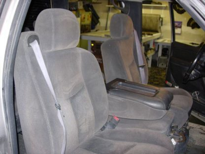 2000 - 2002 Chevy Avalanche 40/20/40 with Opening Console Seat Covers