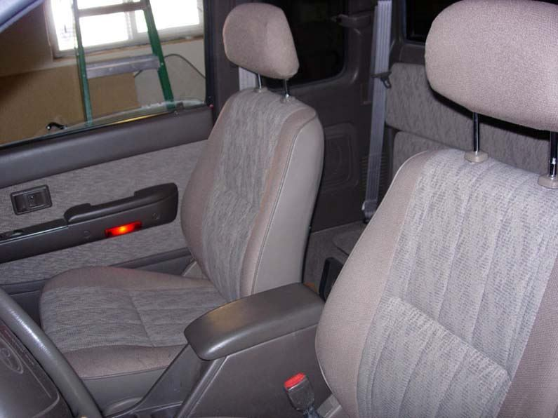 2001-2004 Tacoma Bucket Seat Covers - Headwaters Seat Covers