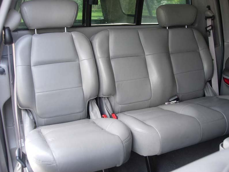 Excellent 2001 2003 Ford F 150 Super Crew 60 40 Seat Covers Leather Only Machost Co Dining Chair Design Ideas Machostcouk
