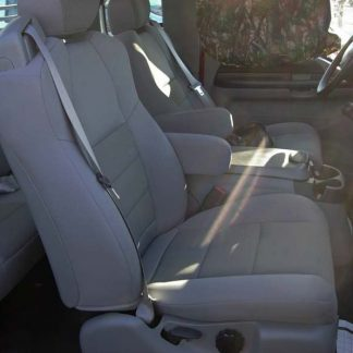 2001-2007 Ford F-250-450 Super Cab XLT Buckets with Integral Seat Belt Seat Covers
