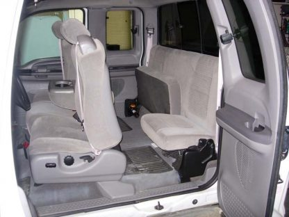 2001-2007 Ford F-250-550 Super Cab XLT 40/20/40 with Integral Seat Belt Seat Covers