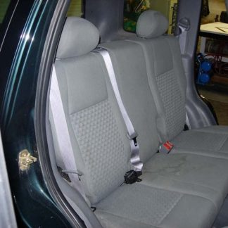 2002 - 2008 Jeep Liberty 40/60 Rear Seat Covers