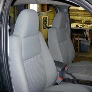 2002 - 2008 Jeep Liberty Buckets with Integral Headrests Seat Covers