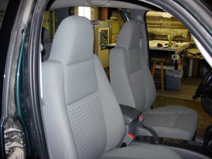 2002-2008 Jeep Liberty Buckets with Integral Headrests Seat Covers