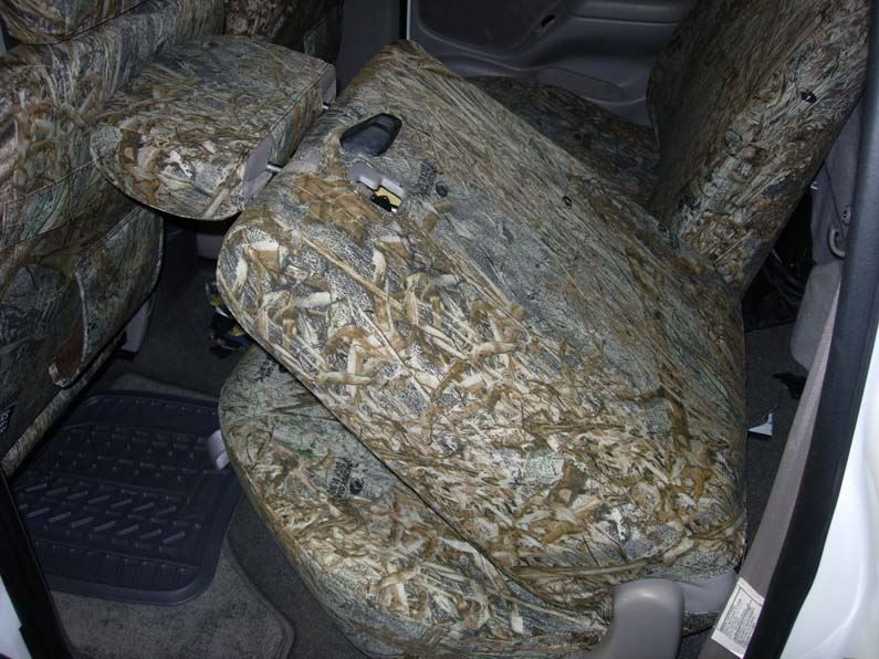 2002 2004 Tacoma Double Cab Rear 40 60 Seat Covers