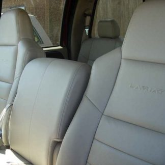 2002-2010 Ford F-250-550 XLT & Lariat 40/20/40 with Opening Console Seat Covers