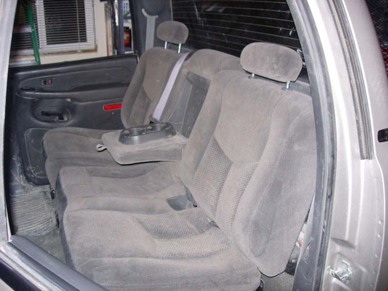 Magnificent 2003 2007 Chevy Avalanche Rear 60 40 With Armrest Seat Covers Caraccident5 Cool Chair Designs And Ideas Caraccident5Info