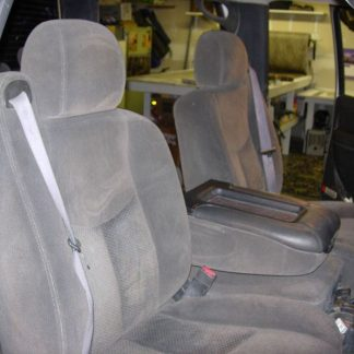 2003 - 2007 Chevy Avalanche 40/20/40 with Opening Console Seat Covers