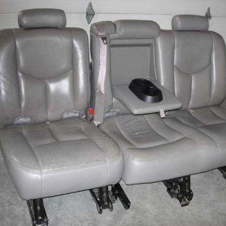 2003-2007 Chevy Suburban Middle Row 60/40 Seat Covers
