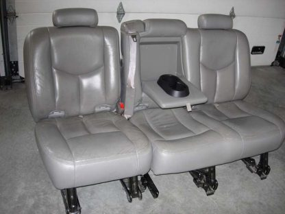 2003 - 2007 Chevy Suburban Middle Row 60/40 Seat Covers