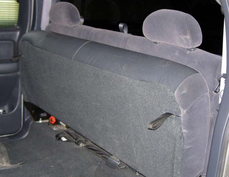Astonishing 2003 2007 Chevy Gmc Extended Cab Rear Bench Seat Covers Caraccident5 Cool Chair Designs And Ideas Caraccident5Info