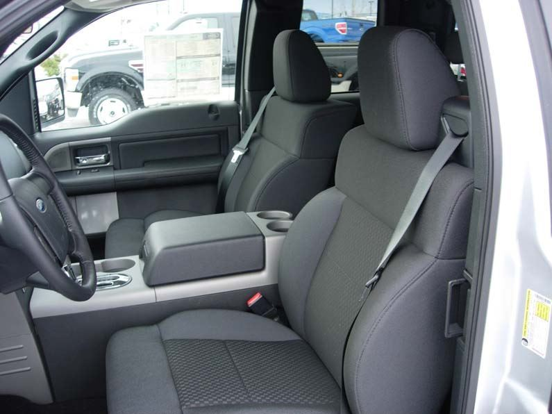 Magnificent 2004 2008 Ford F 150 Bucket Seats With Integral Seat Belt Seat Covers Machost Co Dining Chair Design Ideas Machostcouk