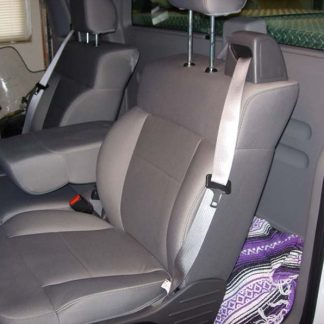 2004-2008 Ford F-150 40/20/40 with Integral Seat Belt and Non-Opening Armrest Seat Covers