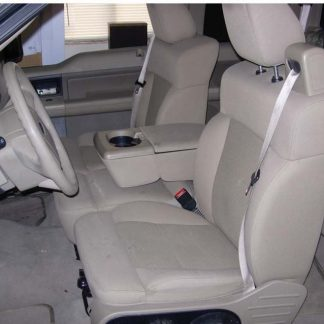 2004-2008 Ford F-150 40/20/40 with Integral Seat Belt and Opening Console Seat Covers