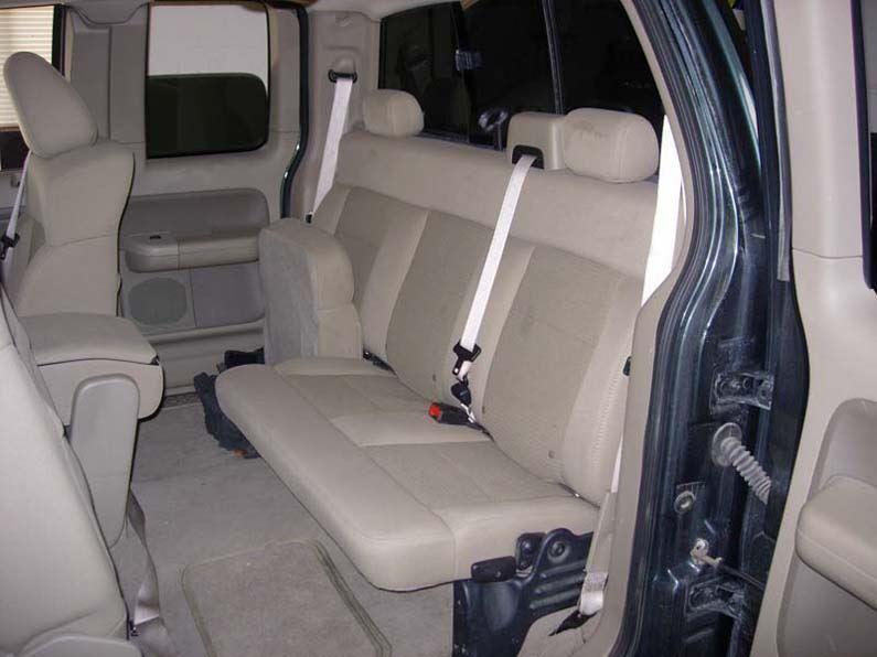 Pleasant 2004 2008 Ford F 150 Super Cab 60 40 Split Bench Seat Covers Uwap Interior Chair Design Uwaporg