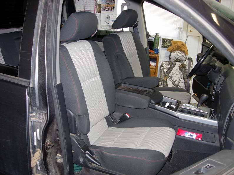 Incredible 2004 2015 Nissan Titan Bucket Seat Covers Machost Co Dining Chair Design Ideas Machostcouk