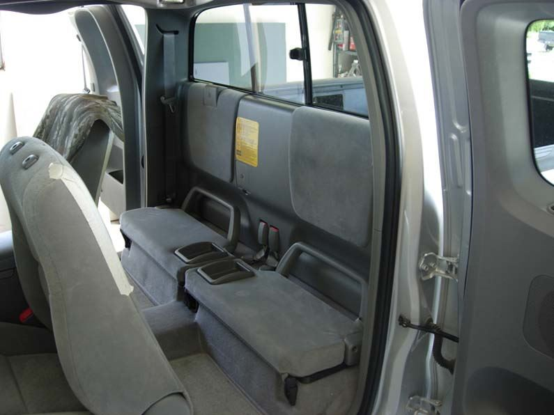 2005 2008 Tacoma Access Cab Rear Seat Covers Headwaters