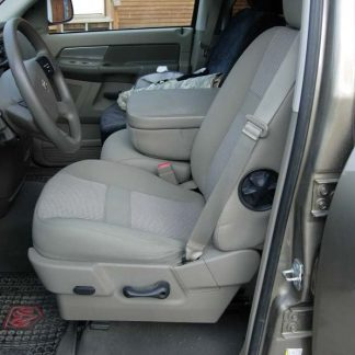 2005-2009 Dodge 40/20/40 Plastic Cowling, Opening Console and Non-Opening Middle Bottom Seat Covers