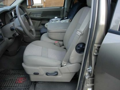 2005 - 2009 Dodge 40/20/40 Plastic Cowling, Opening Console and Non-Opening Middle Bottom Seat Covers