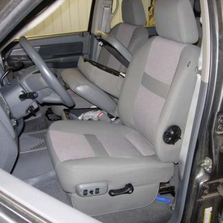 2005-2009 Dodge 40/20/40 Upholstered Flap, Opening Upper and Lower Consoles Seat Covers