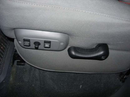 2005-2009 Dodge Bucket Seats with Upholstered Flap Seat Covers