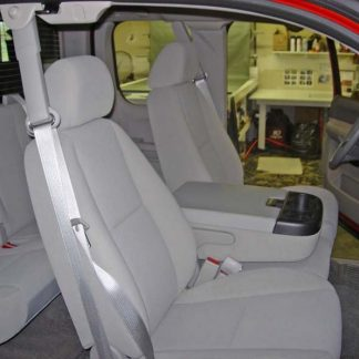2007-2014 Chevy Avalanche 40/20/40 with Opening Upper and Lower Consoles Seat Covers