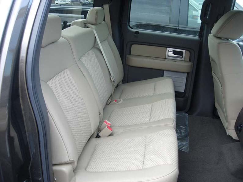 Fantastic 2009 2010 Ford F 150 Super Crew 60 40 Seat Covers Gmtry Best Dining Table And Chair Ideas Images Gmtryco
