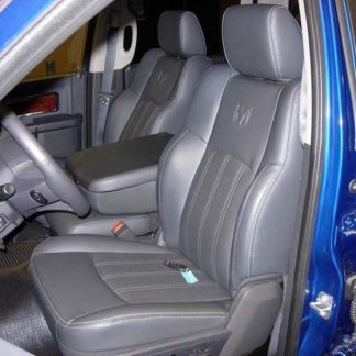 2009-2012 RAM Leather 40/20/40 with Opening Upper and Lower Consoles Seat Covers