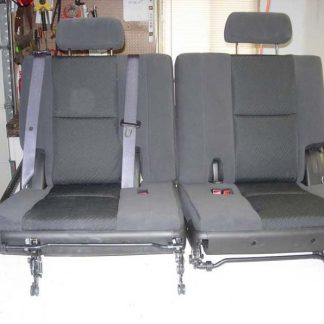 2007 - 2014 Chevy Tahoe 3rd Row 50/50 Split Bench Seat Covers