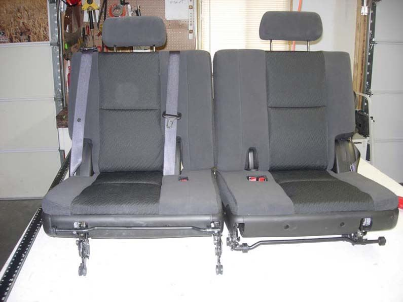 Amazing 2007 2014 Chevy Tahoe 3Rd Row 50 50 Split Bench Seat Covers Caraccident5 Cool Chair Designs And Ideas Caraccident5Info