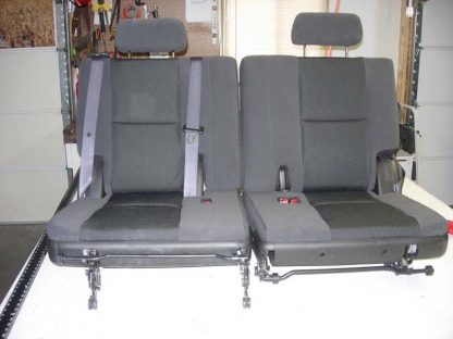 2007 - 2014 GMC Yukon 3rd Row 50/50 Split Bench Seat Covers